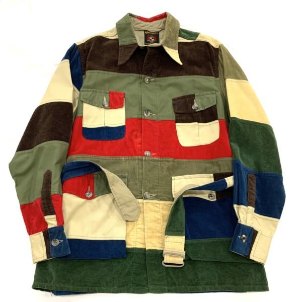 1960s Pacth Work Safari Jacket