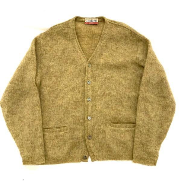 1960s janzen mohair cardigan